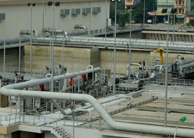 Yan So sewage treatment plant, Vietnam