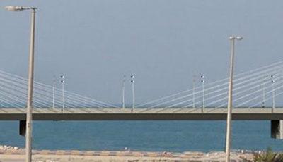 Access bridge, Lulu Island, Bahrain